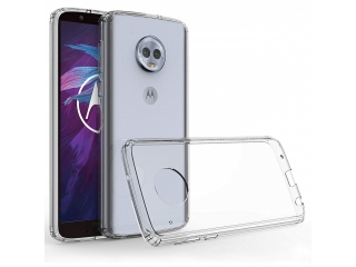 Moto G6 Plus Gummi TPU Hülle flexibel dünn transparent thin clear case