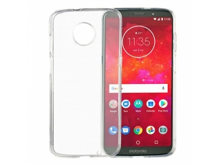 Moto Z3 Play Gummi TPU Hülle flexibel dünn transparent thin clear case