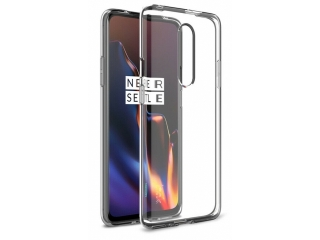 OnePlus 7 Pro Gummi TPU Hülle flexibel dünn transparent thin clear