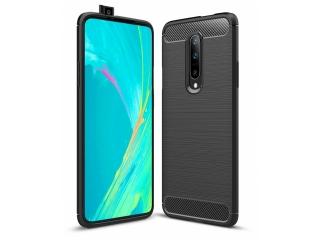 OnePlus 7 Pro Carbon Gummi Hülle TPU Case Cover flexibel schwarz