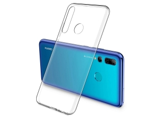 Huawei P Smart+ 2019 Gummi Hülle TPU flexibel dünn transparent clear