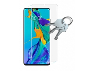 100% Komplett-Display Schutz Folie für Huawei P30 Crystal Clear