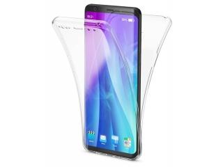 360 Grad Samsung S9+ Touch Case Transparent Silikon TPU Rundumschutz