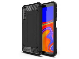 Samsung Galaxy A7 2018 Outdoor Hardcase Soft Inlay für Sport Business