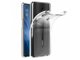 Oppo Reno 5G Gummi Hülle TPU flexibel dünn transparent thin clear