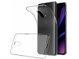 OnePlus 7 Gummi TPU Hülle flexibel dünn transparent thin clear