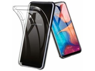 Samsung Galaxy A20e Gummi Hülle flexibel dünn transparent thin clear