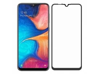 Samsung Galaxy A20e 100% Vollbild Panzerglas Schutzfolie 0.23mm 2.5D