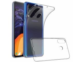 Samsung Galaxy M40 Gummi Hülle flexibel dünn transparent thin clear