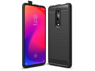 Xiaomi Mi 9T Carbon Gummi Hülle TPU Case Cover flexibel schwarz