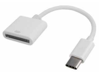 USB-C auf 30-polig Adapter Apple iPhone 4 Kabel an USB C Smartphone