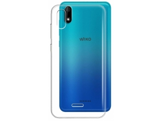 Wiko Y60 Gummi TPU Hülle flexibel dünn transparent thin clear