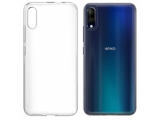 Wiko View 3 Lite Gummi TPU Hülle flexibel dünn transparent thin clear