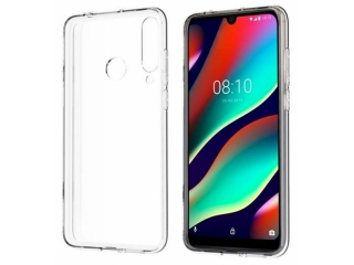 Wiko View 3 Pro Gummi TPU Hülle flexibel dünn transparent thin clear