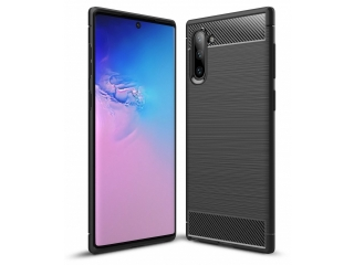 Samsung Galaxy Note 10 Carbon Gummi Hülle TPU Case Cover flexibel