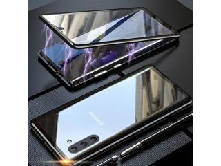 Samsung Galaxy Note 10 Magnetische Alu Hülle Panzerglas Vorne & Hinten