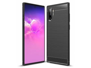 Samsung Galaxy Note 10+ Carbon Gummi Hülle TPU Case Cover flexibel
