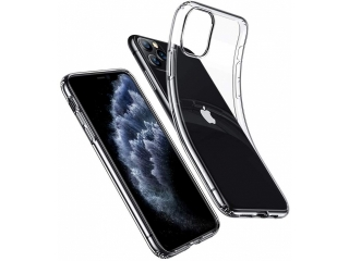 Gummi Hülle iPhone 11 Pro Thin Clear TPU Case transparent dünn