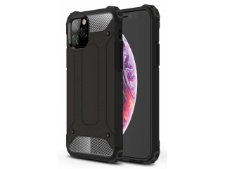 iPhone 11 Pro Max Outdoor Hardcase + Soft Inlay Sport Business schwarz