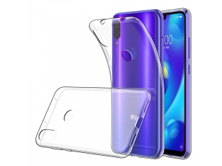 Xiaomi Mi Play Gummi Hülle Thin Clear TPU Case transparent dünn