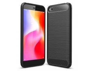 Xiaomi Redmi Go Carbon Gummi Hülle TPU Thin Case flexibel schwarz