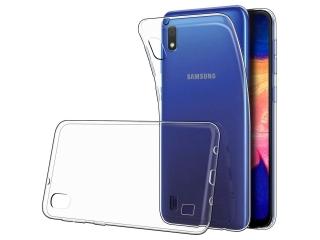 Samsung Galaxy A10 Gummi Hülle flexibel dünn transparent thin clear