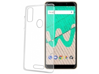 Wiko View Max Gummi Hülle Thin Clear TPU Case transparent dünn