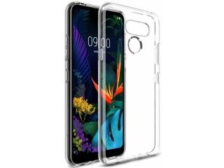 LG K50 Gummi Hülle Thin Clear TPU Case transparent dünn