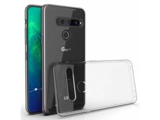 LG G8S ThinQ Gummi Hülle Thin Clear TPU Case transparent dünn