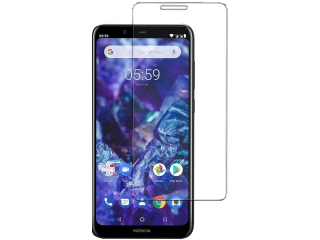 Nokia 5.1 Plus Glas Folie Panzerglas HD Schutzglas Screen Protector