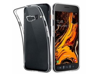 Samsung Galaxy XCover 4S Gummi Hülle Thin Clear TPU Case transparent