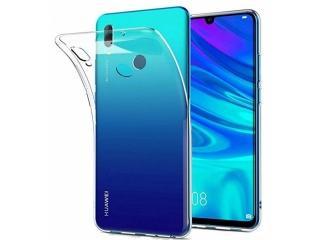 Huawei Y7 2019 Gummi Hülle Thin Clear TPU Case transparent dünn