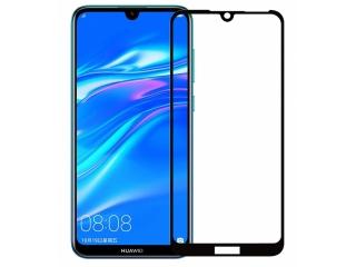 Huawei Y7 2019 100% Vollbild Panzerglas Schutzfolie 0.23mm 2.5D