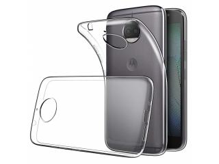 Moto G5S Plus Gummi Hülle Thin Clear TPU Case transparent dünn