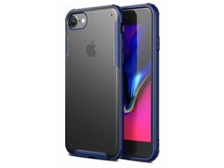No-Scratch Anti-Impact iPhone 8 Hülle 2m Fallschutz blau matt