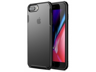 No-Scratch Anti-Impact iPhone 7 Plus Hülle 2m Fallschutz schwarz matt
