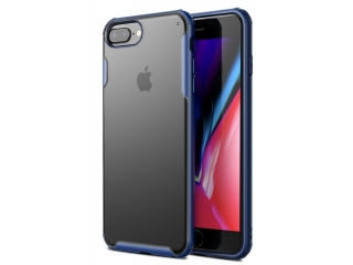 No-Scratch Anti-Impact iPhone 8 Plus Hülle 2m Fallschutz blau matt