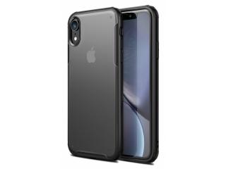 No-Scratch Anti-Impact iPhone XR Hülle 2m Fallschutz schwarz matt