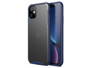 No-Scratch Anti-Impact iPhone 11 Hülle 2m Fallschutz blau matt