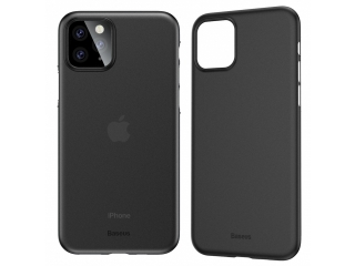 Baseus dünne iPhone 11 Pro Max Hülle Ultrathin Case 0.4m schwarz clear