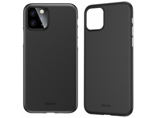 Baseus dünne iPhone 11 Pro Max Hülle Ultrathin Case 0.4m schwarz solid