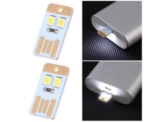 Zwei Stück USB Stick mit LED Licht