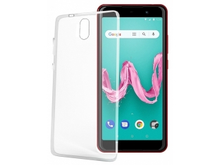Wiko Lenny 5 Gummi TPU Hülle flexibel dünn transparent thin clear case
