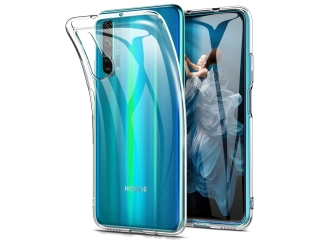 Honor 20 Pro Gummi TPU Hülle flexibel dünn transparent clear case