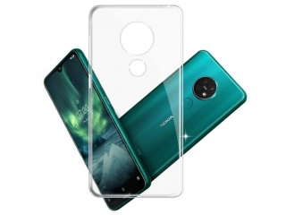 Nokia 7.2 Gummi TPU Hülle flexibel dünn transparent clear case