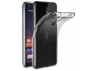 Nokia 3.2 Gummi TPU Hülle flexibel dünn transparent clear case