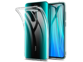 Xiaomi Redmi Note 8 Pro Gummi TPU Hülle dünn transparent clear case