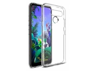 LG Q60 Gummi TPU Hülle dünn flexibel transparent clear case