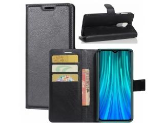 Xiaomi Redmi Note 8 Pro Leder Hülle Portemonnaie Karten Ledertasche