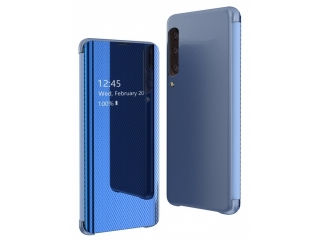 Samsung Galaxy A70 Flip View Case transparent blau